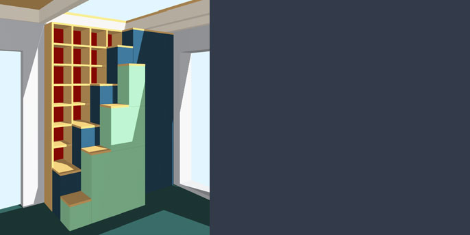 Treppenschrank Idealclima Buro Fur Gestaltung